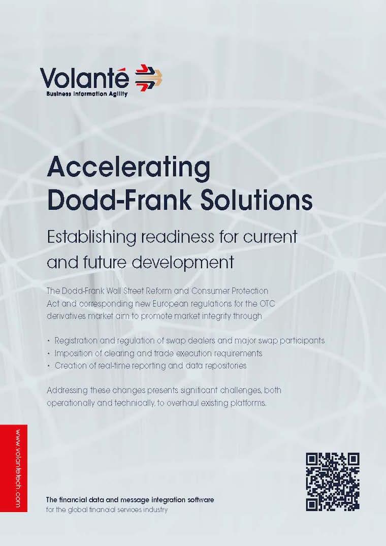 Volante for Dodd-Frank