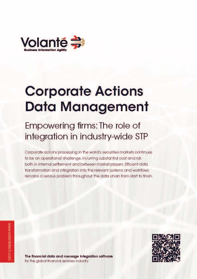 Corporate Actions Data Management