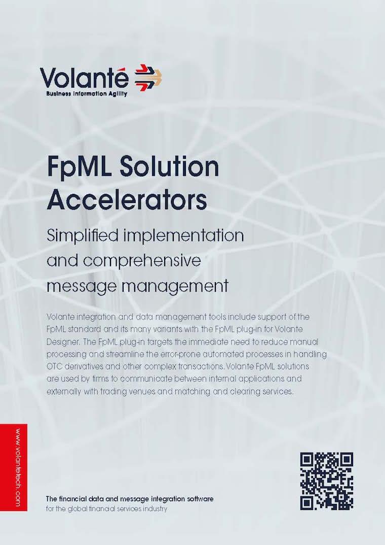 Volante for FpML