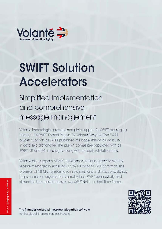 SWIFT Solution Accelerators