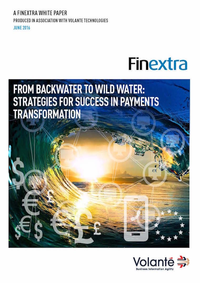From backwater to wild water: strategies for success in payments transformations