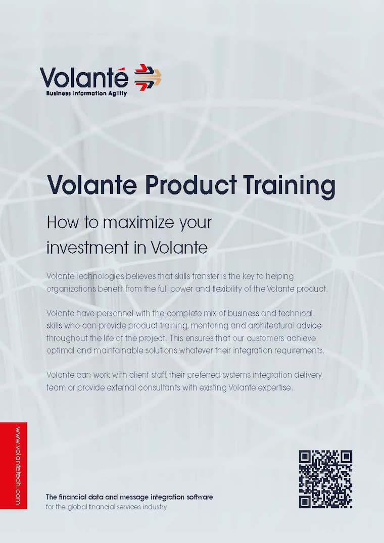 Volante Product Training