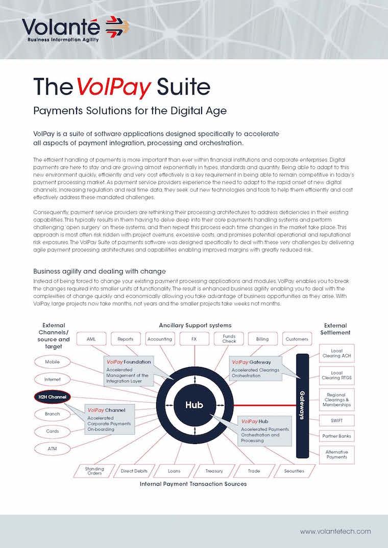 VolPay Suite Brochure